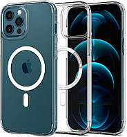 Чехол Spigen для iPhone 12 / iPhone 12 Pro - Ultra Hybrid Mag Safe Compatible, White (ACS02625)