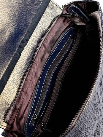 Жіноча шкіряна сумка-рюкзак 8504-7 бронзова, фото 2
