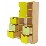 Школьная стенка из шкафов для документов и дидактики ➨ ОЛИМП маленькая✔️, фото 3