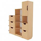 Школьная стенка из шкафов для документов и дидактики ➨ ОЛИМП маленькая✔️, фото 4