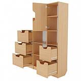 Школьная стенка из шкафов для документов и дидактики ➨ ОЛИМП маленькая✔️, фото 5