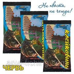 Клейковина Corona-Fishing - Черв'як - 250 грам