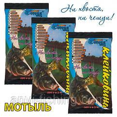 Клейковина Corona-Fishing - Мотиль - 250 грам