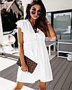 Лавандовый цвет платье свободное ботал  Ольга Ива, фото 4