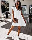 Лавандовый цвет платье свободное ботал  Ольга Ива, фото 5