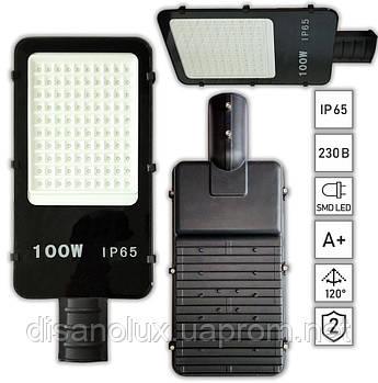 Світильник світлодіодний вуличний консольний SLQ-100-SMD-D 100W 14000Lm 220V IP65