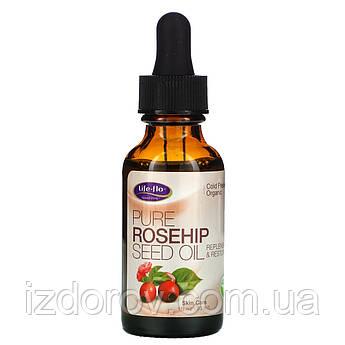 Life-flo, чистое масло семян шиповника, уход за кожей, 30 мл (1 унция)