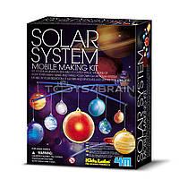 STEM-набір 4М Мобіль Сонячна система 00-03225