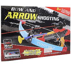 Детский Арбалет с лазерным прицелом Arrrow Shooting 3 болта с присосками