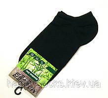 Носки бамбуковые женские короткие черного цвета 37-39р