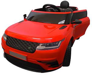 Электромобиль детский Range F4 с пультом управления и мягкими колесами EVA красный (8080)