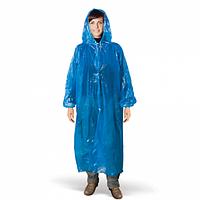 Дождевик-плащ очень плотный с капюшоном на кнопках,толщина 800 мкм