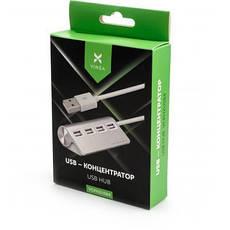 USB-хаб концентратор Vinga USB 2.0 to 4*USB2.0 metal (VCPH2USB4), фото 3