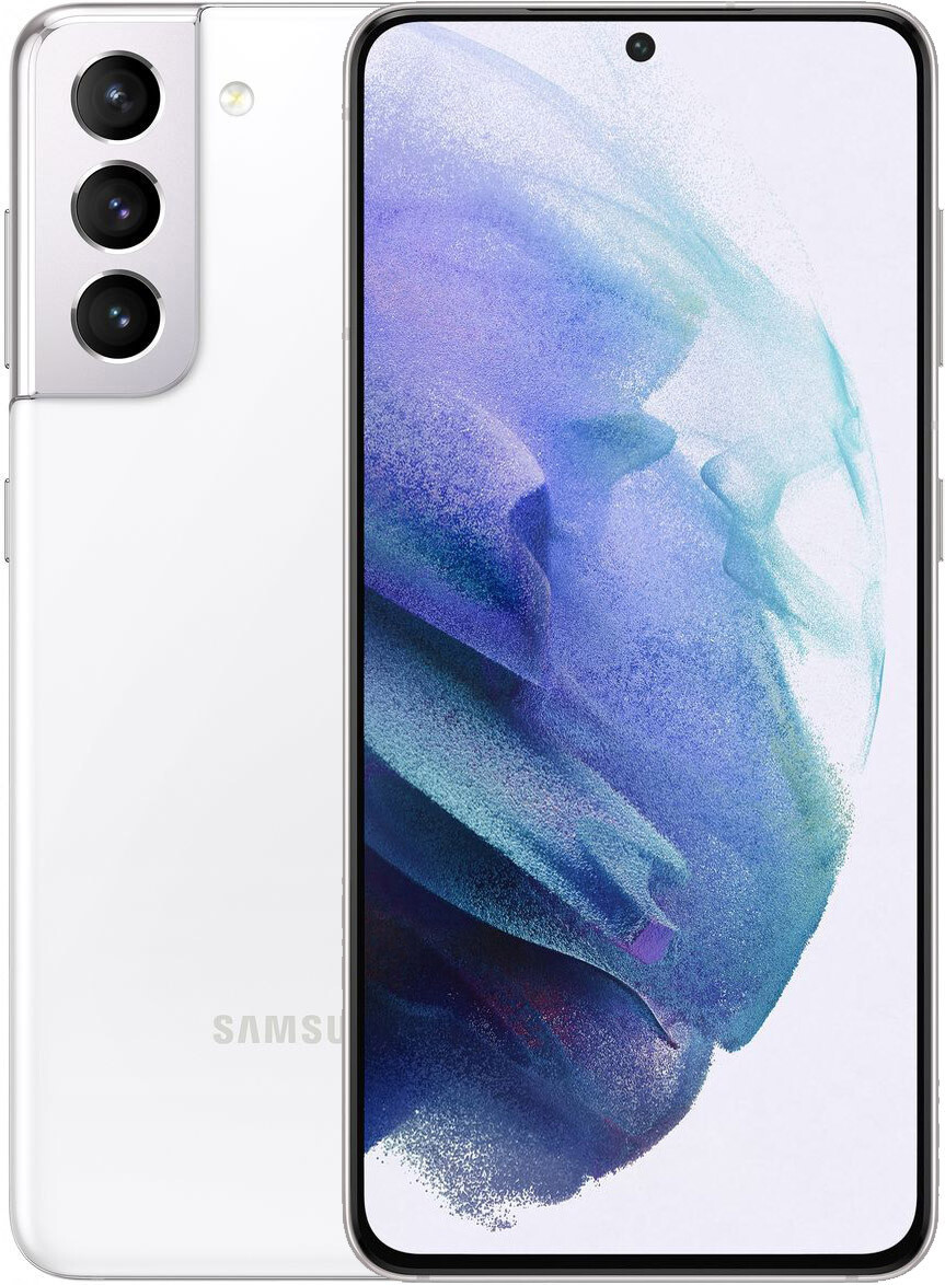 Смартфон Samsung Galaxy S21 8/128GB Phantom White (SM-G991BZWDSEK)