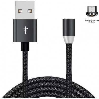 Магнітний кабель Micro USB 5P 1.2 m Magneto black XoKo (SC-355m MGNT-BK), фото 2