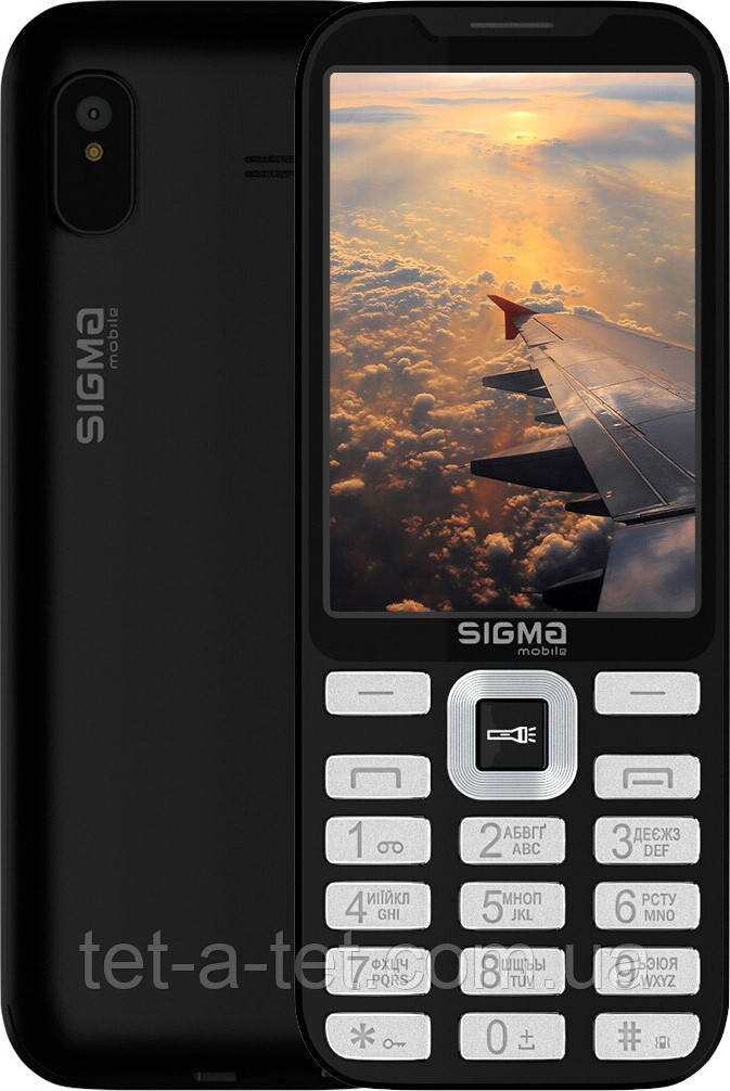 Мобильный телефон Sigma Mobile X-style 35 Screen Black