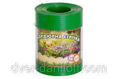 Бордюрна стрічка садова Альта-Профіль 0,65х150х9000 мм салатовий