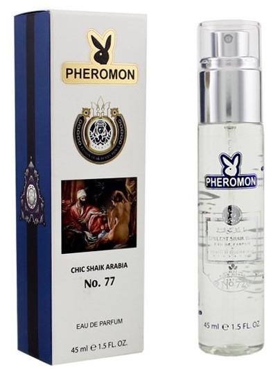 45 мл парфум з феромонами Chic Shaik Arabia No.77 Pheromone (Ч)