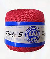 Пряжа для вязания Madame Tricote Perle 5, цвет красный