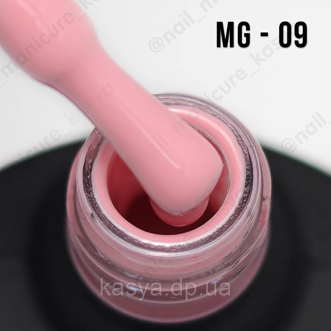 Гель-лак MG №009 (Pale Pink), 8 мл