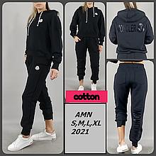 Прогулочный костюм в стиле Moncler от AMN Турция люкс Черный XL