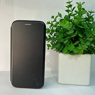Чехол-книжка Samsung A41 (black)