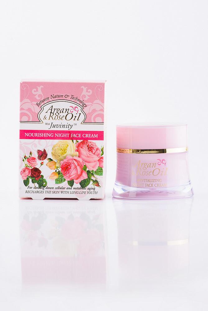 Argan & Rose Oil Крем для обличчя нічний живильний