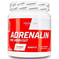 Предтренировочный комплекс Progress Nutrition Adrenaline (300 грамм.)