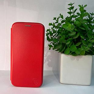 Чехол-книжка Samsung A41 (red)