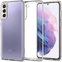 Чехол Spigen для Sasung Galaxy S21 Plus - Ultra Hybrid, Crystal Clear (ACS02387)