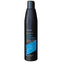 "Шампунь-гель для волосся і тіла 2в1 ""Спорт і фітнес"" Estel Professional Curex Active 300 мл (4606453058023)"