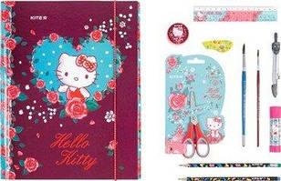 Набір папка для праці з наповненням Hello Kitty