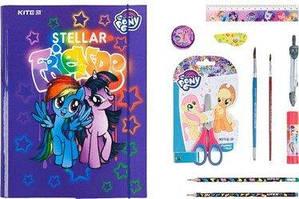 Набір папка для праці з наповненням My Little Pony
