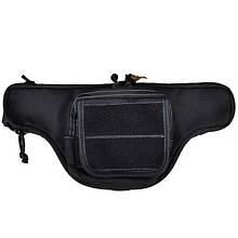 Поясна сумка для зброї Hasta Flash L (velcro), чорна