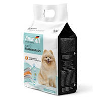 Пелюшки AnimAll Puppy Training Pads для собак та цуценят, 60 х 60 см, 100 штук