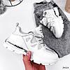 Кроссовки женские Dolly белые 3428, фото 5