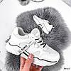 Кроссовки женские Kelan белые + черные 3465, фото 5