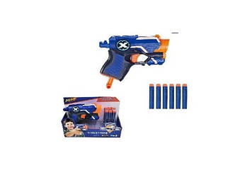 Бластер стріляє паролоновими снарядами,у кор-ці,20х5,2х16,5см №7061(48)(96) КІ