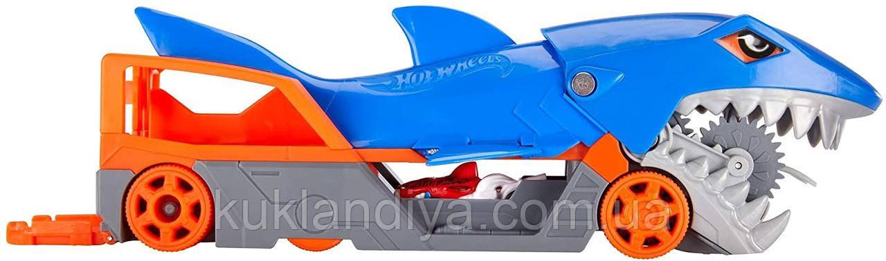 Hot Wheels  Голодная Акула транспортер