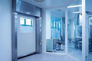 Скоростные ворота для чистых помещений EFA-SRT® CR Premium (2000 х 2500 мм)