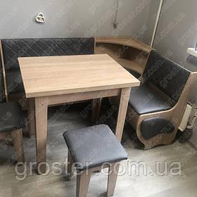 Кухонний куточок Мілорд з розкладним столом і табуретами