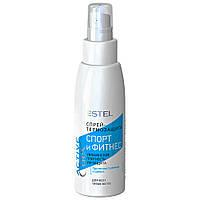 """Спрей-термозахист для всіх типів волосся """"Спорт і фітнес"""" Estel Professional Curex Active 100 мл (4606453057842)"""