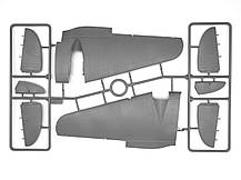 Германский бомбардировщик He 111H-3,  ІІ МВ. Сборная модель в масштабе 1/48. ICM 48261, фото 3