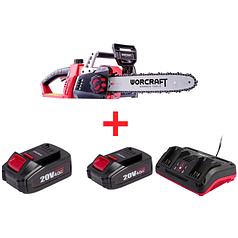 Набор Пила цепная аккумуляторная Worcraft CGC-S40Li (с АКБ и ЗУ)