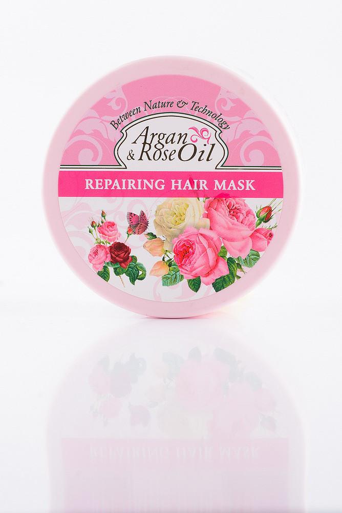 Argan & Rose Oil Відновлююча маска для волосся