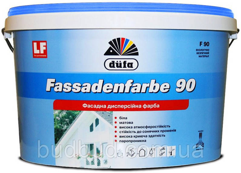 Краска фасадная F90 Dufa 1,4 кг