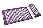 ОПТ ОПТ Масажний акупунктурний килимок з подушкою масажер для спини/ніг osport, фото 4