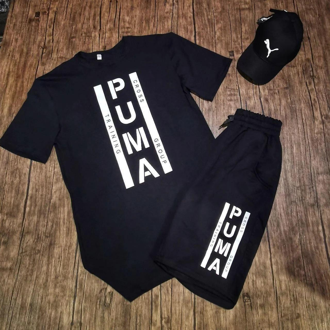 Футболка и шорты Puma черный