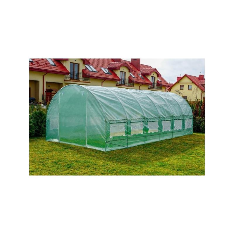 Парник теплиця з вікнами 6м. кв дачний фермерський для городу 3х2х2м (Садовий тунель)