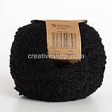 Пряжа DROPS Alpaca Bouclé (цвет 8903 black), фото 2
